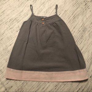Zara Lightweight Dress with Two Buttons